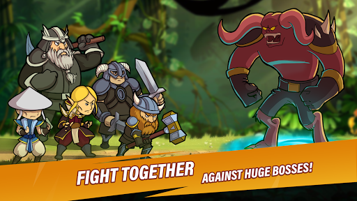Taptic Heroesuff0dIdle Tap Adventure,RPG clicker games android2mod screenshots 4