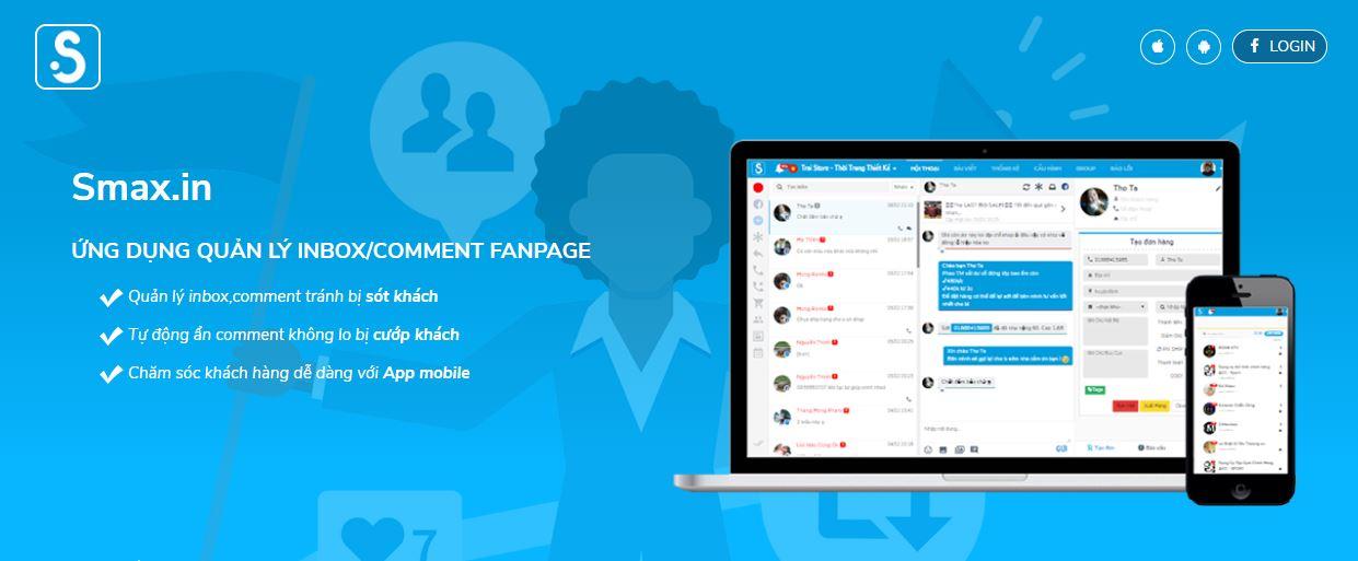 giải pháp quản lý fanpage Smax.in