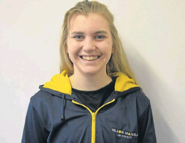 Madibaz No 1 player Hayley Ward received the Most Promising Player award at the USSA squash championships at Nelson Mandela University last week
