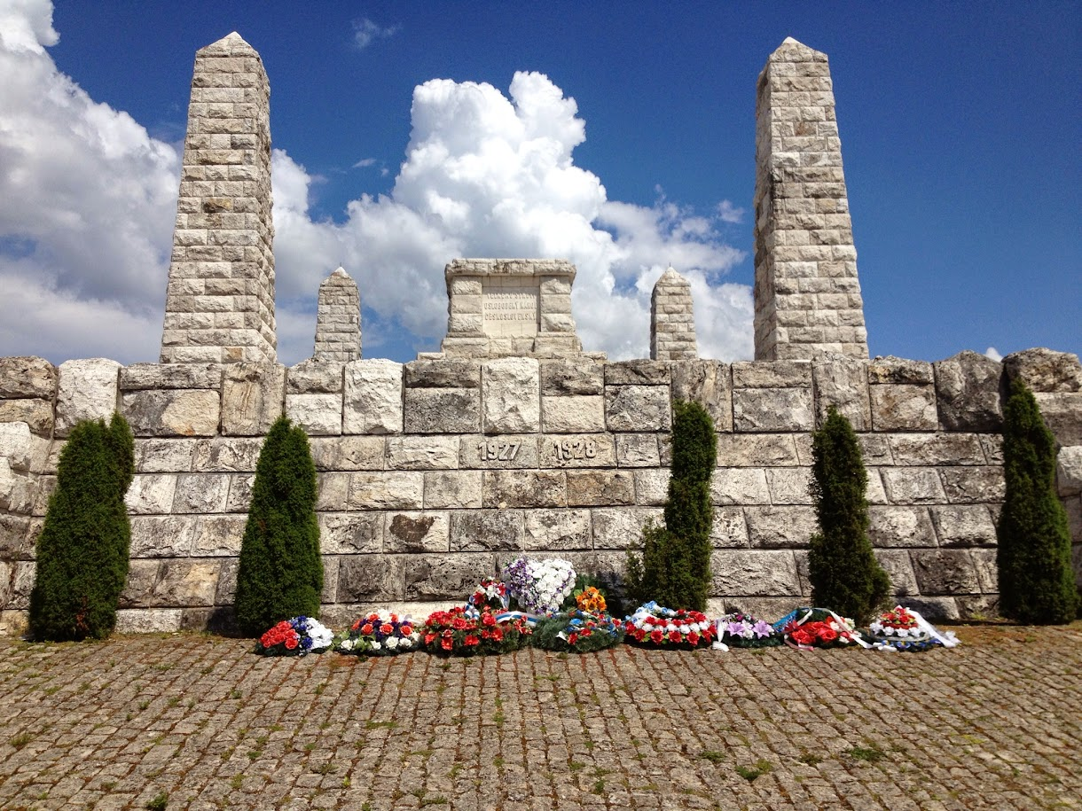 Memorial, Bradlo, Slovakia