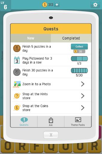 Pictoword: Fun Word Games, Offline Word Brain Game 1.7.18 screenshots 14