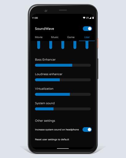 Sound booster SoundWave 20.06.24 screenshots 5