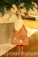 Photo: babbo natale tilda tinto in filo e bunting