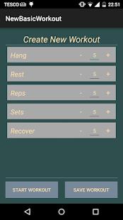 Hang Tight - Hangboard Trainer- screenshot thumbnail