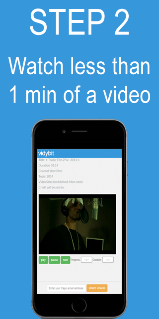 VidyBit - Videos for Bitcoins- screenshot