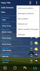 Transparent clock & weather screenshot 9
