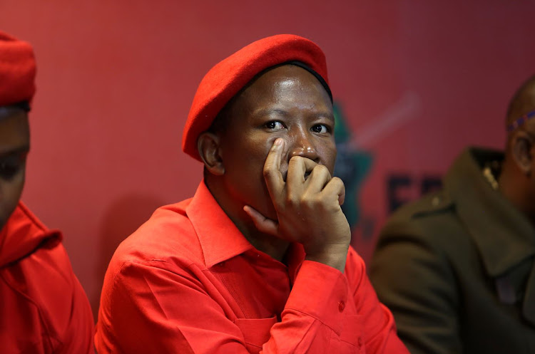 EFF leader Julius Malema and security official Adriaan Snyman were charged with discharging a firearm in public.
