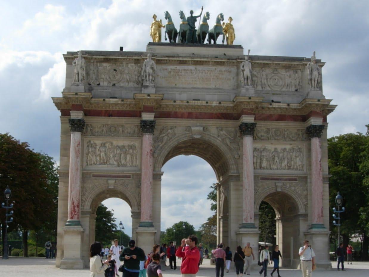 Arc de Triomphe du Carrousel à Paris