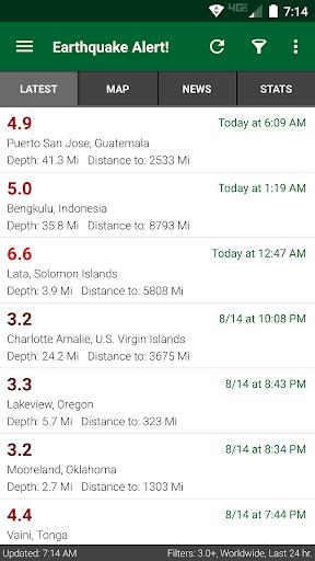 Earthquake Alert! screenshot