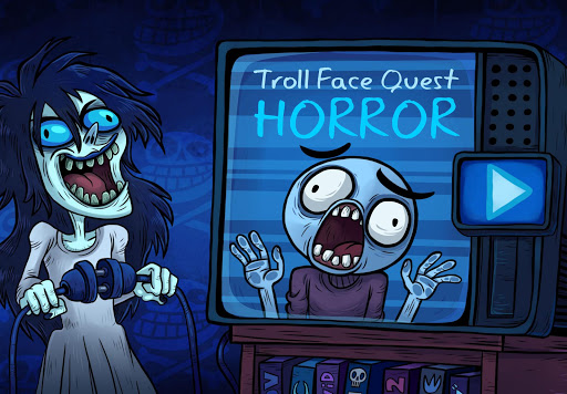 Troll Face Quest: Horror apkpoly screenshots 1