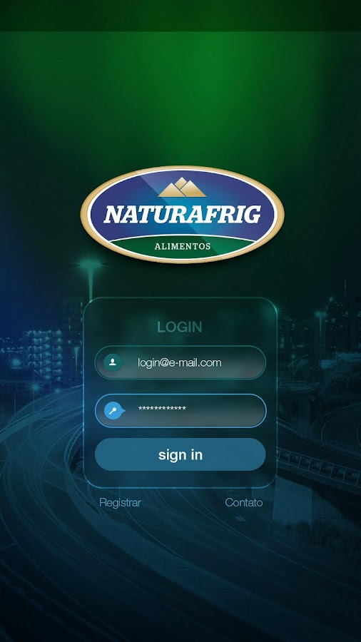Naturafrig Rastreamento- screenshot