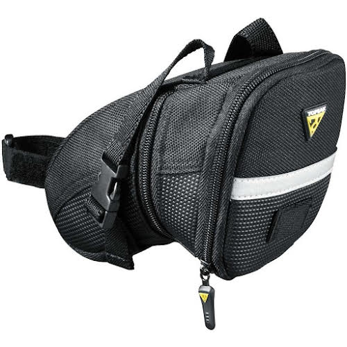 Topeak Aero Wedge Bag Large, With Strap Black
