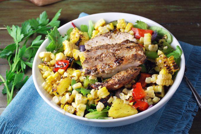 Caribbean Grilled Jerk Chicken Bowls Recipe