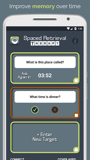 Spaced Retrieval Therapy screenshot for Android
