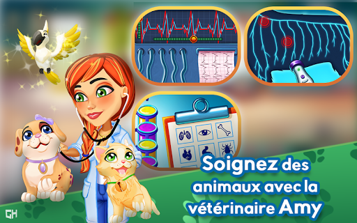 Télécharger gratuit Dr. Cares - Amy's Pet Clinic 🐈 🐕 APK MOD 1