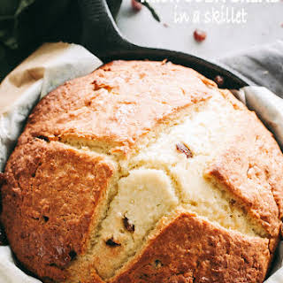 Soda Bread Recipe in a Skillet.