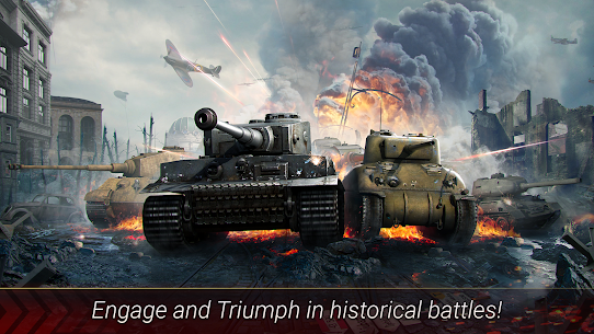 World of Armored Heroes: WW2 Tank Strategy Wargame 1.2.0 Mod + Data for Android 1