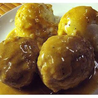 Polish Meatballs.