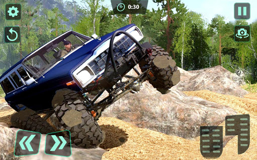 Off-Road 4x4 jeep driving Simulator : Jeep Racing android2mod screenshots 6