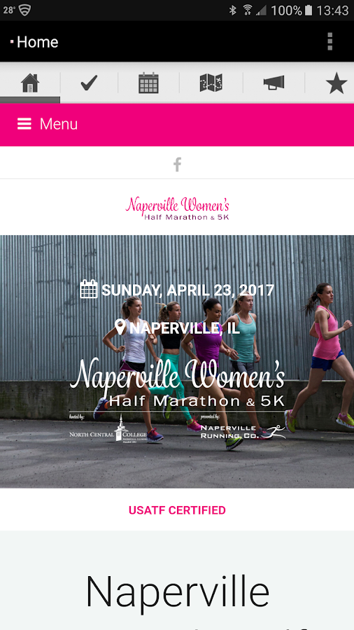Naperville Women's Half- screenshot