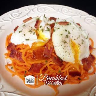 Paleo Breakfast Carbonara.