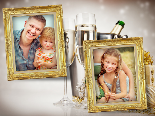 New Year Photo Frame Dual