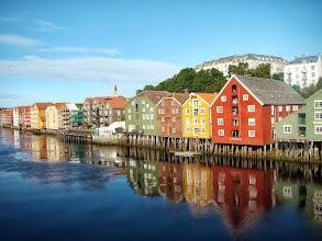 Photo: Trondheim widok z mostku Gamla Bybra