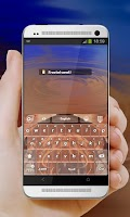 Screenshot of Desert Dream GO Keyboard