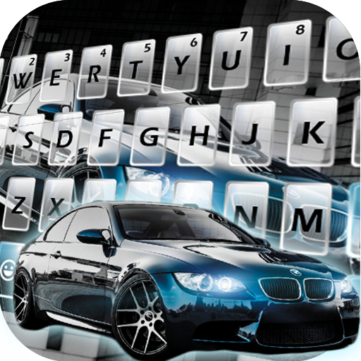 Sports Car New Keyboard Theme