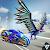 Real Robot Transforming Game: Flying Robot Bike file APK Free for PC, smart TV Download