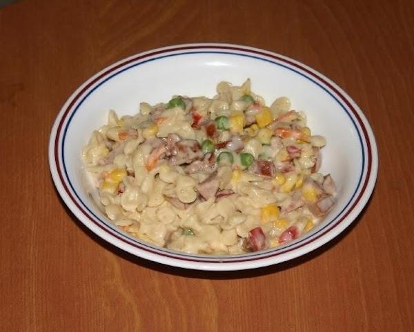 Alfredo Minipasta Dinner Recipe