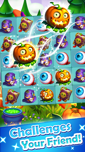 Halloween Witch - Fruit Puzzle 1.0.20 screenshots 1