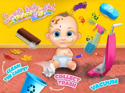 Sweet Baby Girl Daycare 5 - Newborn Nanny Helper- screenshot thumbnail