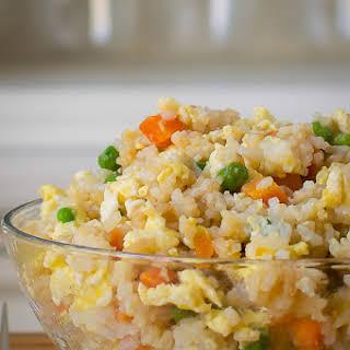 Easy Egg Fried Rice.