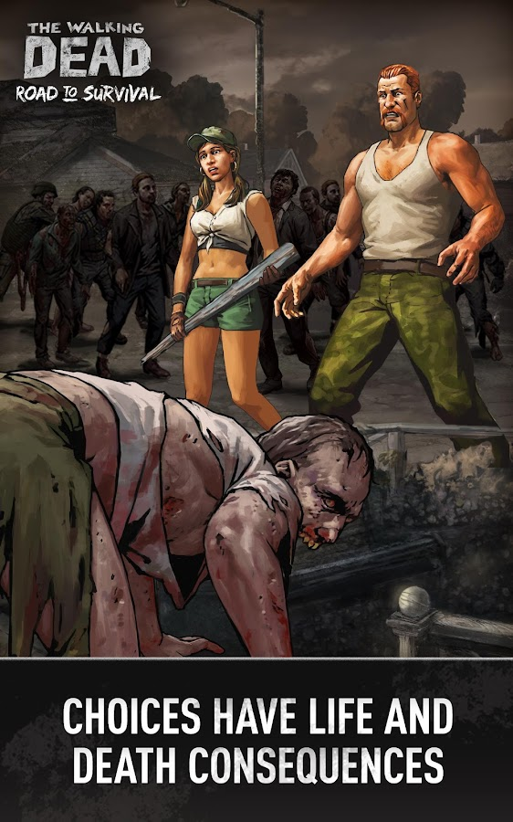 Screenshots of Walking Dead: Road to Survival for iPhone