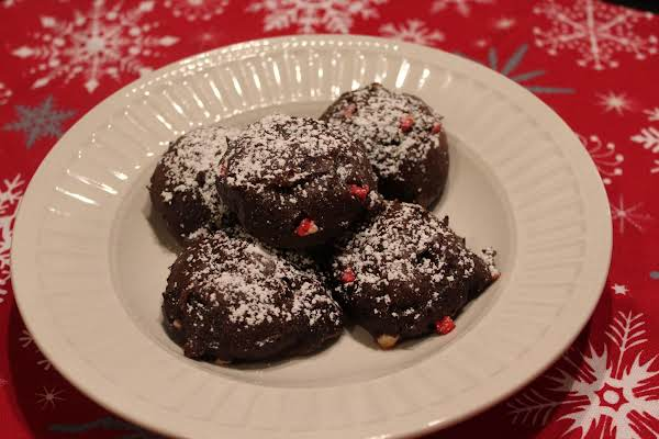 Mocha Peppermint Chocolate Chip Cookies