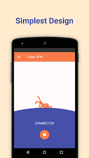 Turbo VPN – Free Unlimited VPN & Secure Hotspot Screenshot