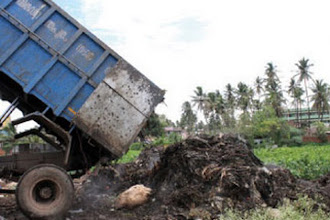 Photo: Garbage-free Bangalore by Monday, say authorities http://t.in.com/1rEW
