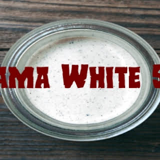 Alabama White Sauce.