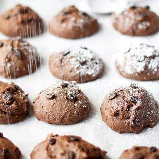 Healthier Chocolate Espresso Cookies