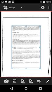 Scantex - OCR and PDF scanner screenshot 1