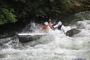Wildwater Canoeing World Cup final on river Mur in Austria