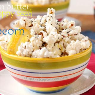Lemon Butter and Poppy Seed Popcorn