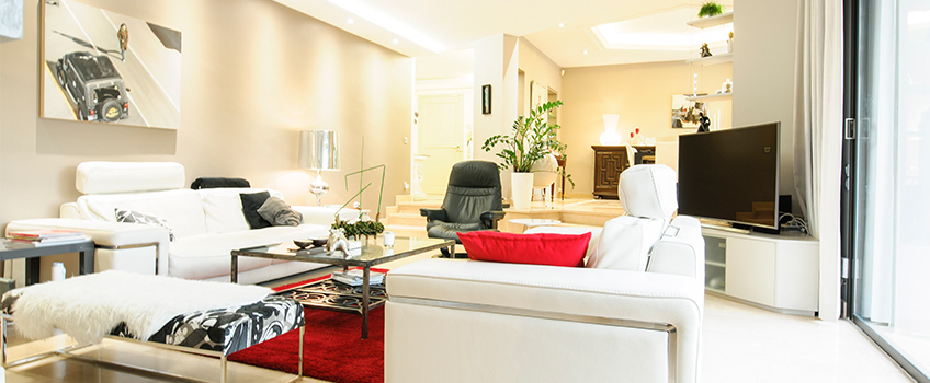 HOME STAGING: réaménager un salon rectangulaire !