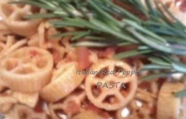 Italian Tomato Red Pepper Wheels Recipe