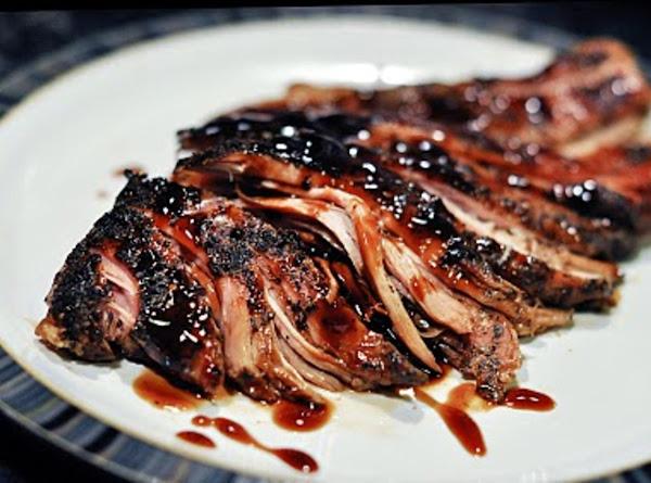 Brown Sugar And Balsamic Glazed Pork Loin Recipe