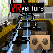 VR Kitchen Coaster