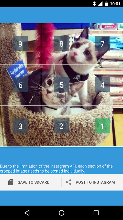 Instagrid Grids for Instagram- screenshot