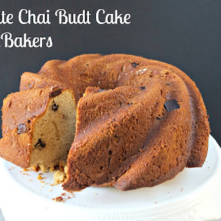 Chocolate Chai Budt Cake #BundtBakers