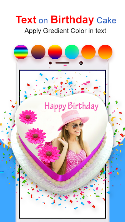 Photo & Name on Birthday cake: HD Photo frames APK Download ...